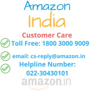 Amazon Customer Care India. Amazon toll free number. Contact amazon